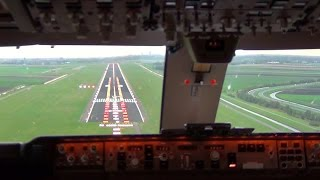 Video Cockpit view - Boeing 747-400F Landing Amsterdam Schiphol MP3, 3GP, MP4, WEBM, AVI, FLV Oktober 2018