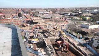 Bridge Dismantling - Leicester, England