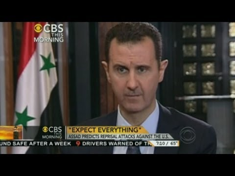 syrian president - Syrian President Bashar al-Assad has again denied using chemical weapons, in an interview with the American network CBS.