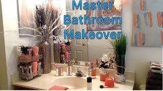 Master Bathroom Makeover: Tj Maxx Inspired: Affordable Diy Bathroom Decor: Deidra Dazzling