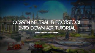 Corrin Neutral B footstool into Down Air Tutorial