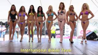 Bikini Contest at Hagerstown, MD Bike Show 2015