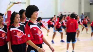 WNBA Stars Tamika Catchings&Ebony Hoffman Empower Women And Girls Through Sports In Thailand