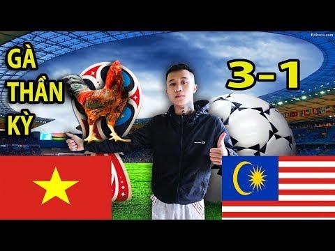 Gấu Vlogs - Gà Thần Dự Đoán Trận Chung Kết Lượt Về giữa Đội Tuyển Việt Nam và Malaysia - Thời lượng: 11:44.