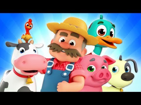 Old MacDonald Had A Farm Nursery Rhymes | Farm Song For Children | Baby Songs