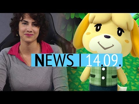 Animal Crossing für die Switch - AC III Remastered im Seasons-Pass von Odyssey - News (видео)