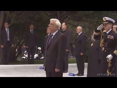 Στρατιωτική παρέλαση στη Θεσσαλονίκη ενώπιον Παυλόπουλου και Καμμένου