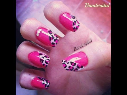 Uñas con Animal Print Tutorial
