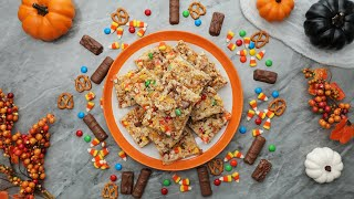Halloween Crispy Rice Treats in 15 Minutes or Less // Presented by BuzzFeed & GEICO by Tasty
