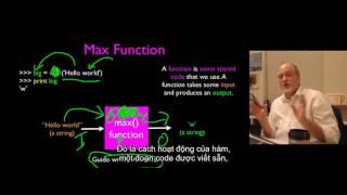 4 UMICH Python căn bản - Hàm, truyền tham số, giá trị trả về