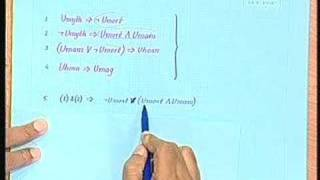 Lecture - 8 Knowledge Based Systems: Logic And Deduction