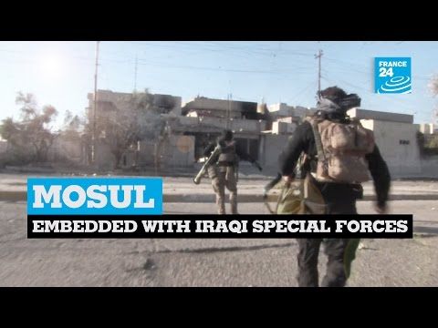 Video Exclusive: Embedded with Iraqi special forces in Mosul download in MP3, 3GP, MP4, WEBM, AVI, FLV January 2017