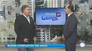Prefeito de Bariri participa do Balanço Geral e fala sobre os investimentos no município