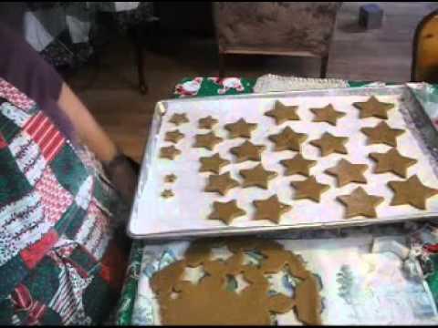 Gingerbread Part 2, Cutting, Baking & Cookies