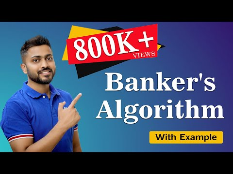 L-4.5: Deadlock Avoidance Banker's Algorithm with Example  With English Subtitles