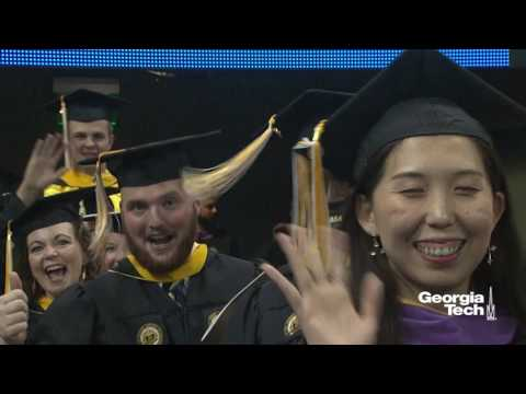 Georgia Tech Doctoral and Masters Ceremony Spring 2017