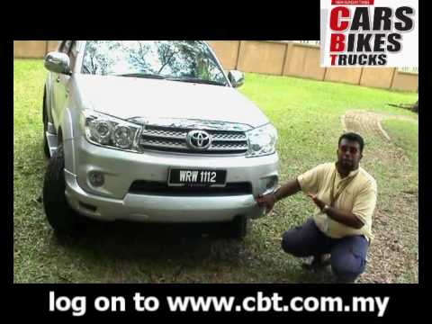 CBT.COM.MY – Toyota Fortuner TRD