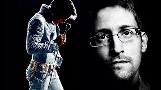 Edward Snowden revela lo que realmente le sucedió a Elvis Presley.