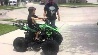 Video Seth gets an ATV for his 10th birthday MP3, 3GP, MP4, WEBM, AVI, FLV Mei 2017