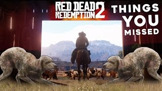 Red Dead Redemption 2: Things You Probably Missed in The Trailer