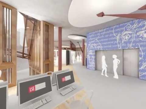 Neue Studenten Center  'durch  fliegen'