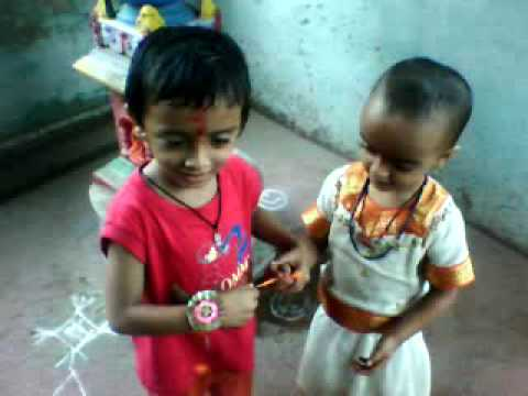Small  Kids Raksha Bandhan