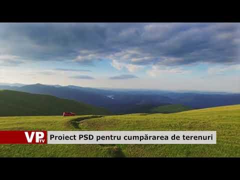 Proiect PSD pentru cumpărarea de terenuri
