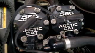 9. 1997 Arctic Cat EXT 580