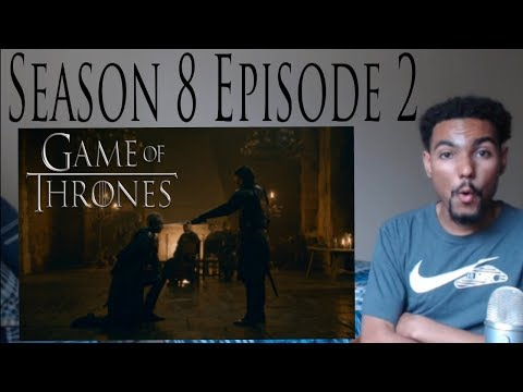 """Game of Thrones 8x2 REACTION!!! """"A Knight of the Seven Kingdoms"""" Part 2"""