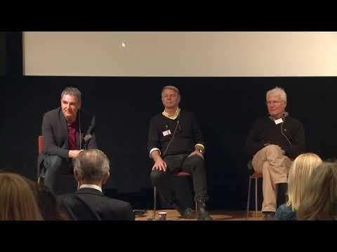Paneldialog med Jan Aronsson, Thomas Ljungberg och Roger Nilson