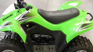 8. 2009 Kawasaki KFX90 Kids Youth ATV Quad at RideNow Peoria