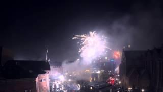 Timelapse: Fireworks and New Years Eve in Aarhus 2015/16 – Fyrværkeri og Nytår 2015/16 i Aarhus