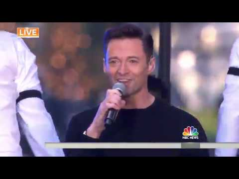 Video Hugh Jackman performs 'The Greatest Show' live download in MP3, 3GP, MP4, WEBM, AVI, FLV January 2017