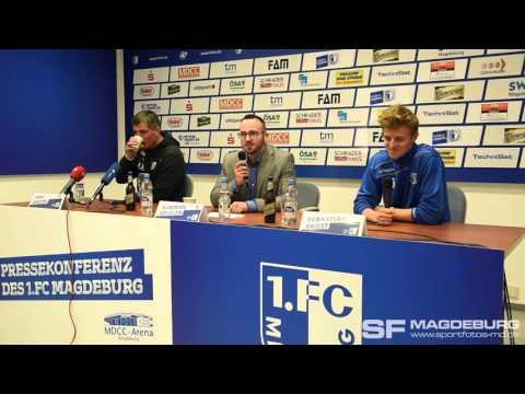Video: Pressekonferenz vor dem Spiel - 1. FC Magdeburg gegen Holstein Kiel
