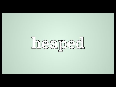 Heaped Meaning