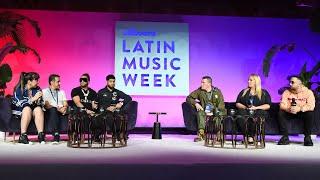 El Alfa, Frabian Eli y Angela Martinez discuten el nuevo modelo de negocio   Billboard Música Latina