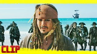 Piratas Del Caribe 5 La Venganza De Salazar Disney Clip Fantasmas Español