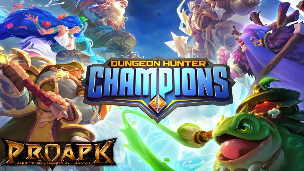Dungeon Hunter Champions - Mobile RPG with MOBA