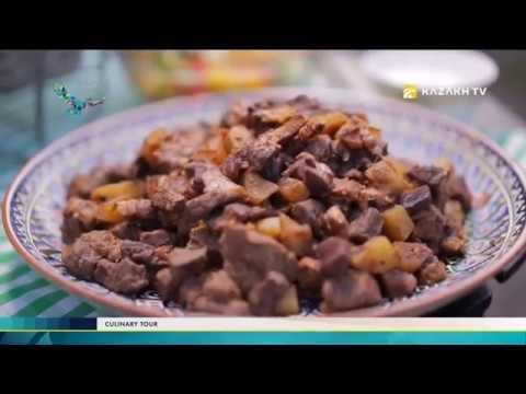 Making Kuyrdak Pavlodar style following a traditional recipe