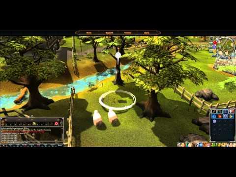 RuneScape 3 – HTML5 BETA Gameplay