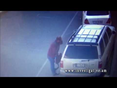 Գողություն փողոցում կայանված մեքենայից (Տեսանյութ և լուսանկարներ)