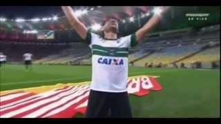 Confira o gol do empate Coxa Branco no Maracanã, narração de Moura Jr, Transamérica Curitiba.