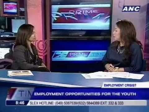 Employment opportunities for the youth: An interview with Ruth Georget on ANC Prime Time