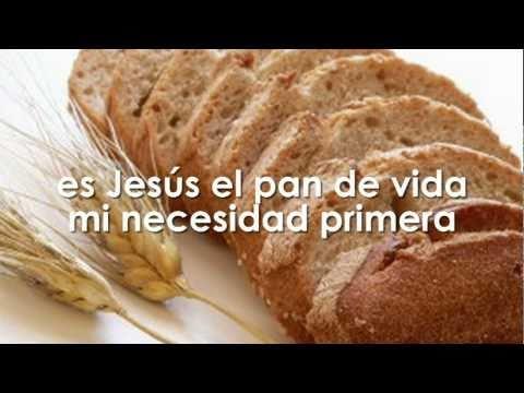 pan de vida - Jesus Adrian Romero - Pista y letra