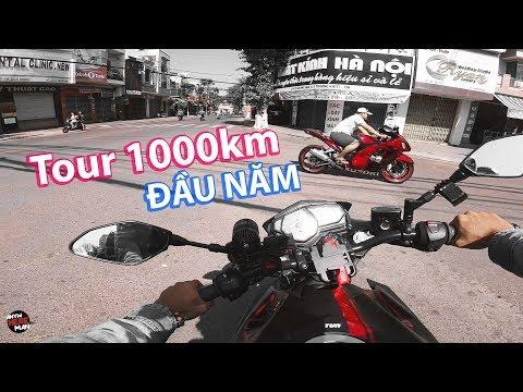 Tour 1000km đầu năm của Anywhere Man bằng MT-03 | Travel vlog - Thời lượng: 11 phút.