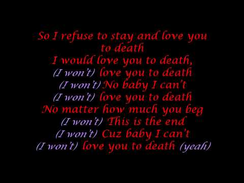 Claude Kelly - Love You To Death [lyrics]