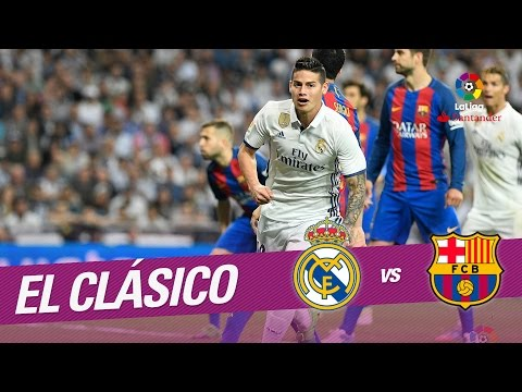 El Clásico - Gol de James (2-2) Real Madrid vs FC Barcelona