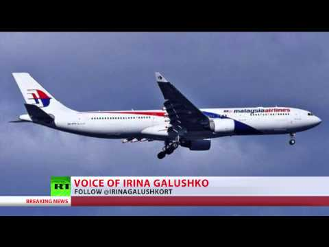 AIRLINER - A Malaysian Airlines' Boeing-777 has crashed over Ukraine, close to the border with Russia. RT LIVE http://rt.com/on-air Subscribe to RT! http://www.youtube.com/subscription_center?add_user=Russi...