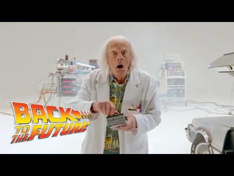 Presentan avance de cortometraje de 'Volver al futuro'