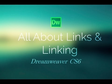 indreamweaver - Link to written tutorial: http://tutvid.com/all-about-links-linking-in-dreamweaver-cs6/ Follow me on Facebook: https://www.facebook.com/tutvid Follow me on T...